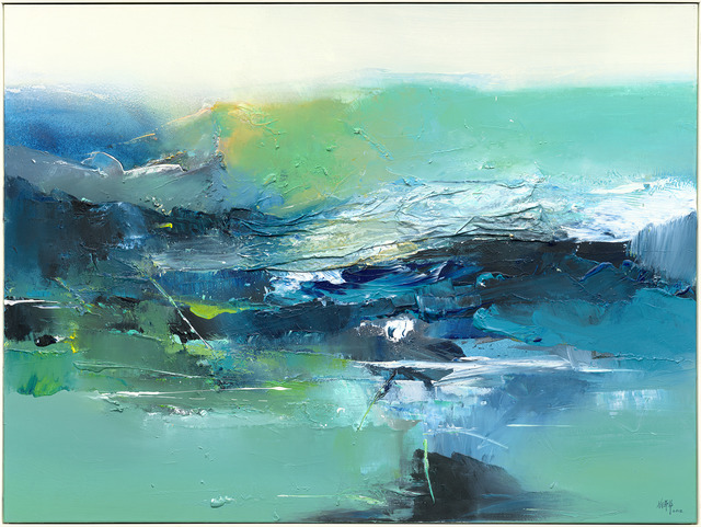 , ' Spring River ,' 2012, Capital Art Center