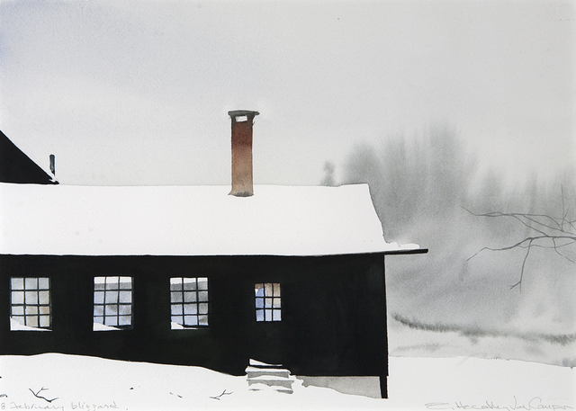 , '8 February Blizzard,' , Dowling Walsh
