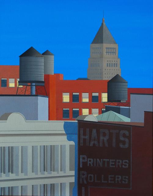 , 'Printers Rollers,' 2018, Octavia Art Gallery