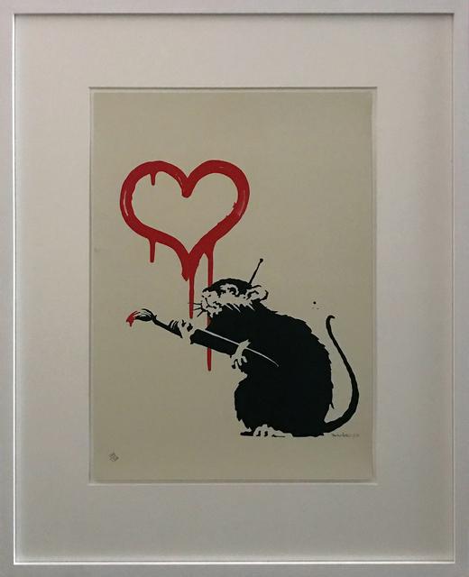 , 'Love Rat signed,' 2004, Galerie Kronsbein