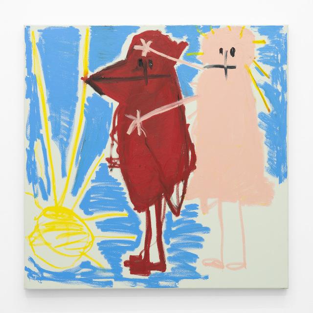 , 'OBACHT roter Vogel unter Sonn,' 2018, A3 Arndt Art Agency