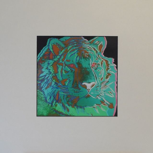 Andy Warhol, 'Sibirian Tiger', 1987, Print, Colour Offset Print, Art276