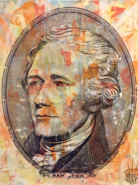 , 'Alexander Hamilton,' 2018, World Trade Gallery