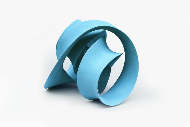 , 'Quadruple Twisted Loop (Pale Blue) ,' 2016, Pangolin