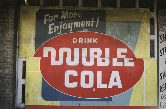 , 'Double Cola Sign, Beale Street, Memphis, Tennessee,' 1966, Pace/MacGill Gallery