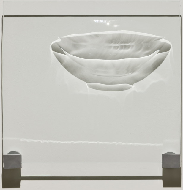 , 'Flower shaped Bowl with Lotus Scroll and Design in Relief (Goryeo) 靑磁陽刻蓮花      唐草童子文化形大楪,' 2015, Gallery 3