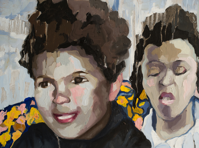Ruth Owens, 'David and Sweet Ann', 2019, Painting, Oil on canvas, Jonathan Ferrara Gallery