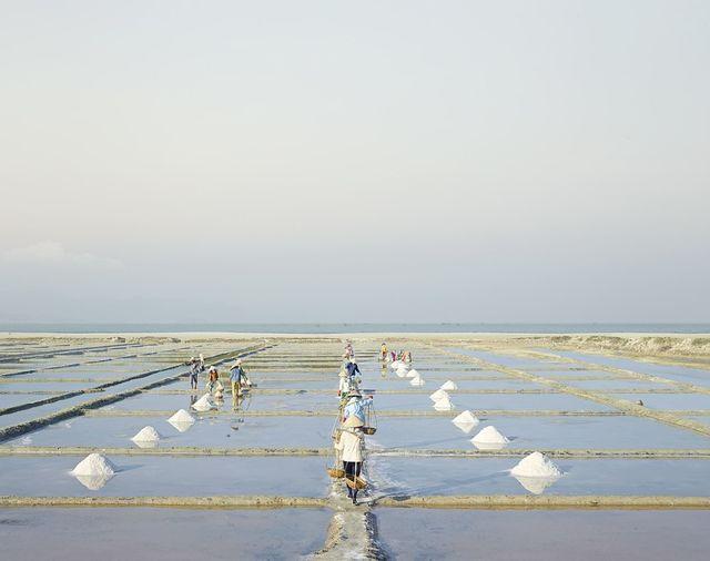 David Burdeny, 'Salt Farms, Nha Trang, Vietnam', 2014, Photography, épreuve couleur / C-print, Galerie de Bellefeuille