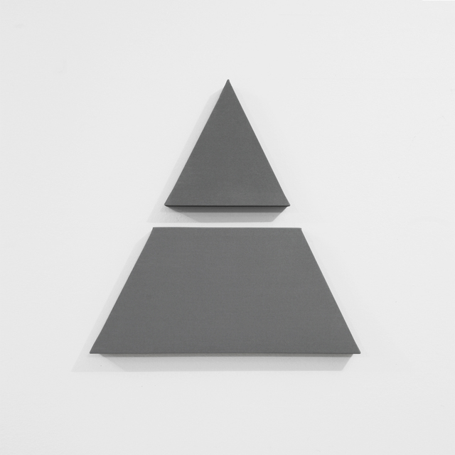 , 'Triangle in 2 Parts,' 2016, A arte Invernizzi