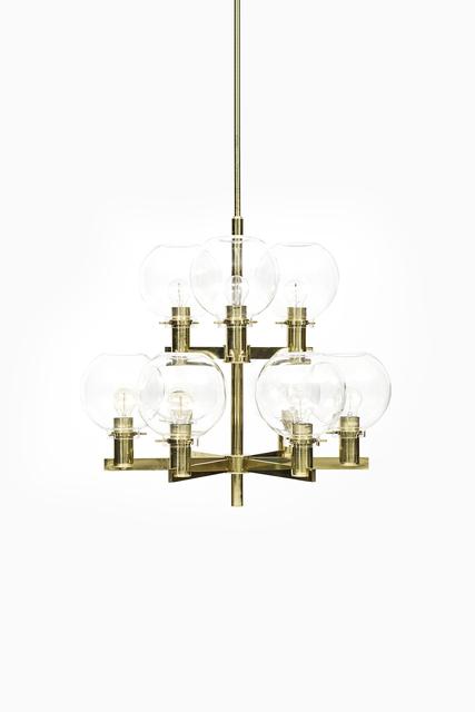 , 'Hans-Agne Jakobsson ceiling lamp model T-348/9,' ca. 1950, Studio Schalling
