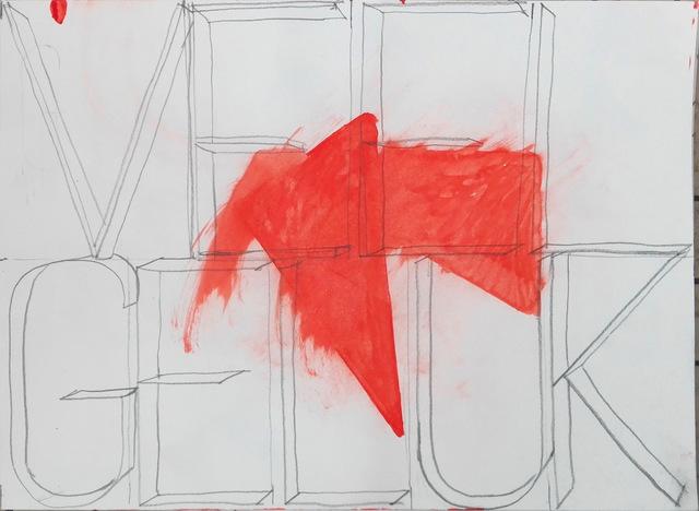 Klaas Vanhee, 'Untitled (veel geluk)', 2019, Galería silvestre