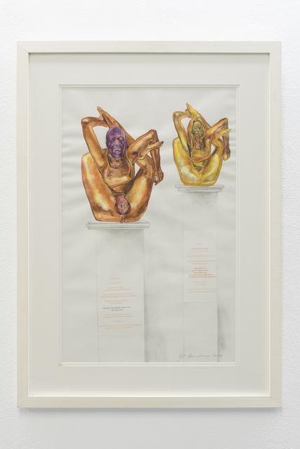 , 'The Golden Phallusy,' 2010, ADN Galeria (Barcelona)