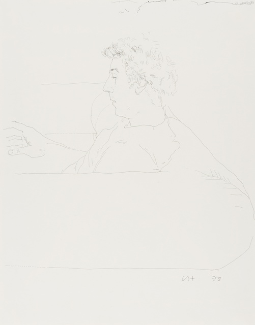 David Hockney, 'Gregory on a sofa', 1978, Forum Auctions