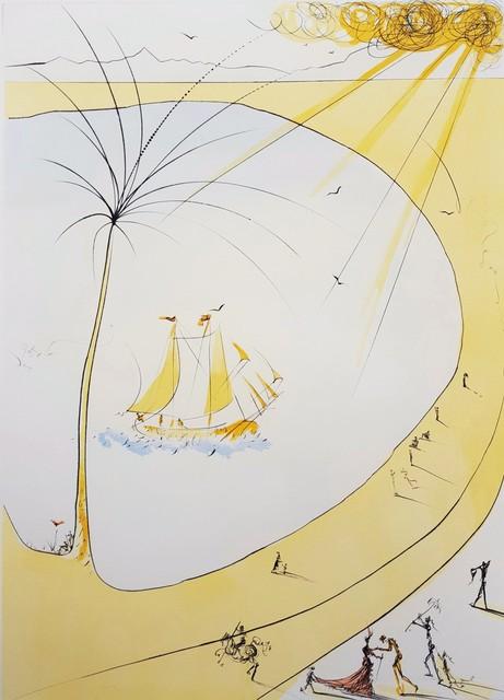 Salvador Dalí, 'Hommage a Picasso (Cannes) (Cote d'Azur)', 1973, Graves International Art