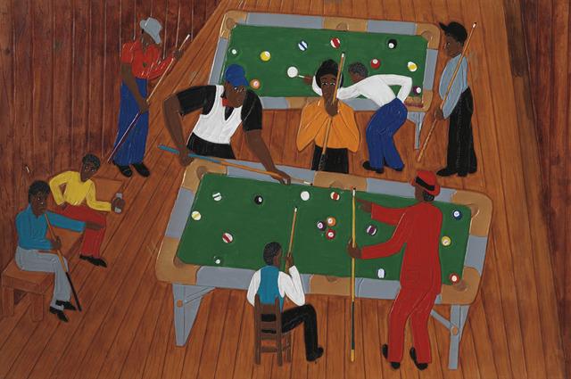 , 'Jeff's Pool Room,' 2003, Adelson Galleries