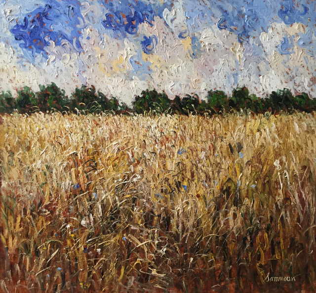 , 'Wheat Field,' 2016, Galerie d'Orsay