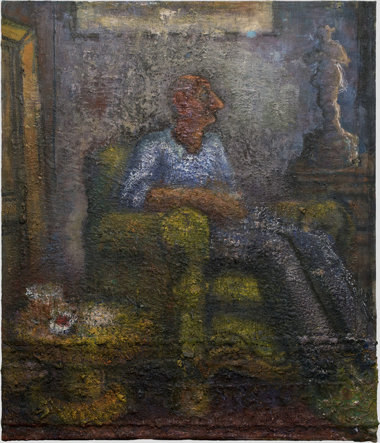 , 'Man Sitting in an Armchair,' 2008, Betty Cuningham
