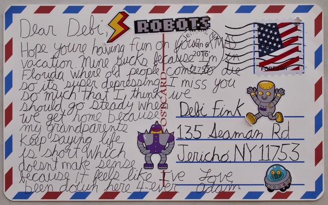 , 'Dear Debie Postcard ,' 2018, Art Unified Gallery