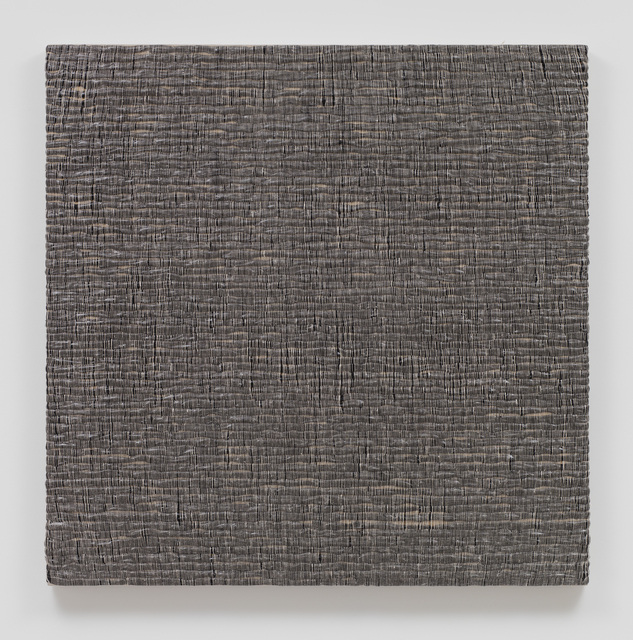 , 'Woven Solid as Weft, Square (Black) #1,' 2017, Sprüth Magers