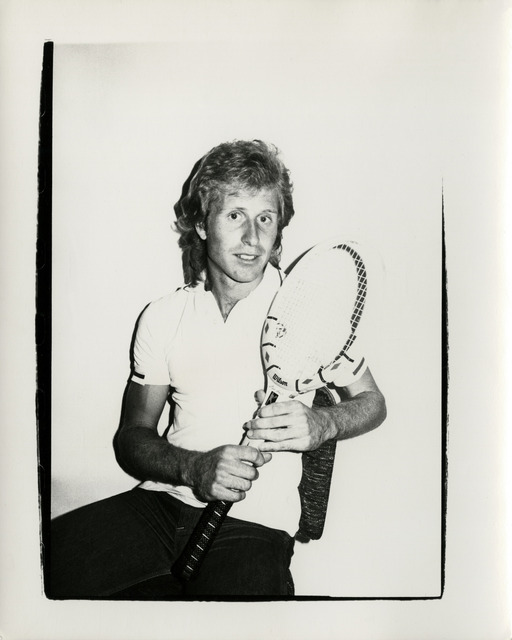 Andy Warhol, 'Vitas Gerulaitis', Hedges Projects