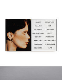John Baldessari, 'Prima Facie (Third State): From Aloof to Vapid,' 2005, Sotheby's: Contemporary Art Day Auction