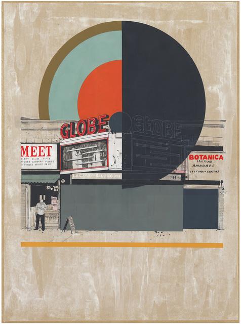 , 'Globe LA,' 2015, Joshua Liner Gallery