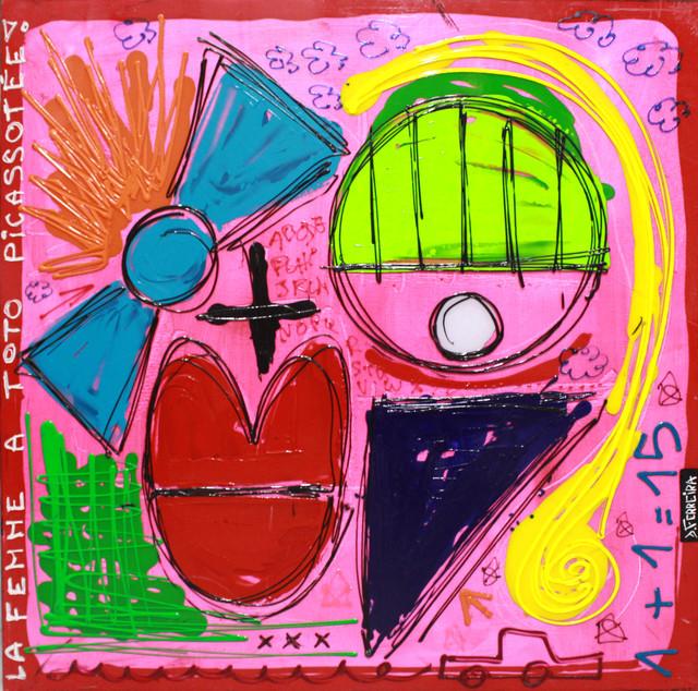 , 'Femme à Toto Picassotée,' 2016, Art Life Gallery