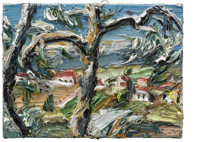 , 'Acquaviva durch Bäume,' 2015, Ludorff
