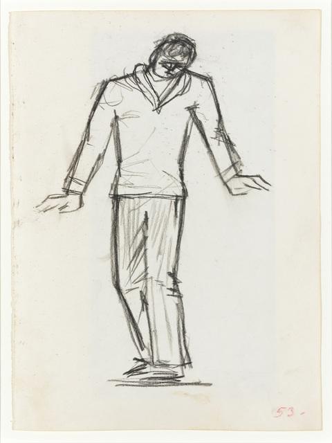 , 'Dancer I,' 1953, Osborne Samuel