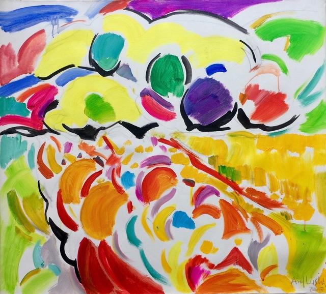 , 'Coloured Landscape,' 2017, Robert Kananaj Gallery