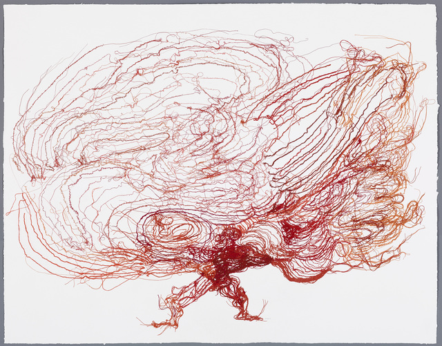 , 'Karma Juggler (Red),' 2013, STPI