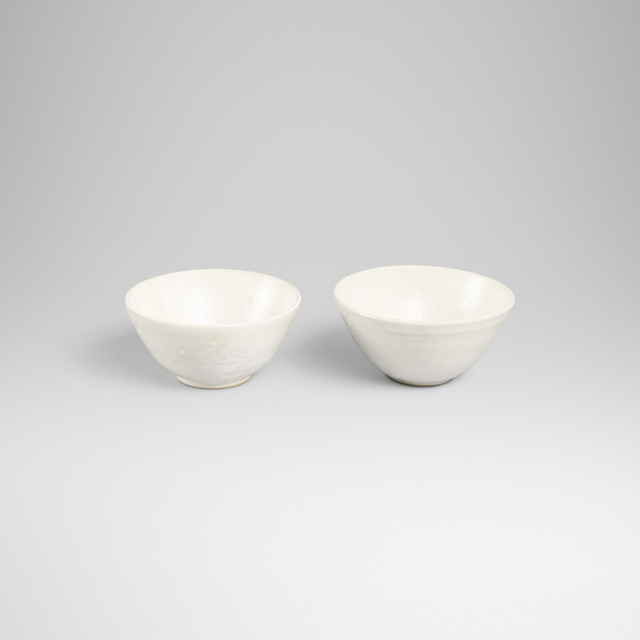 Aage and Kasper Wurtz, 'bowls, pair', Wright