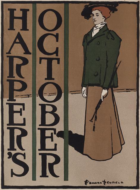 Edward Penfield, 'Harper's October', 1897, Omnibus Gallery