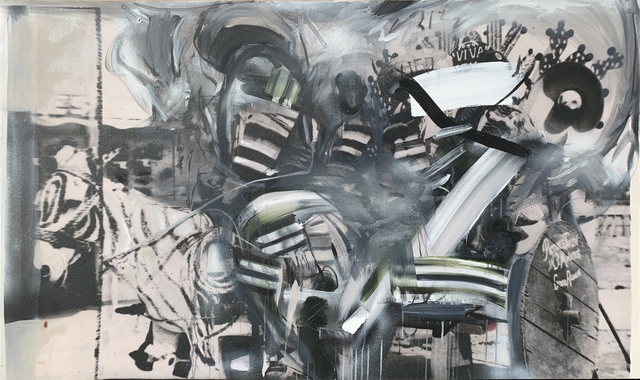 , 'Zebra Donkey,' 2018, Mark Moore Fine Art