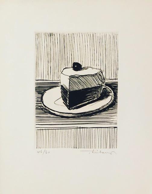 Wayne Thiebaud, 'Pie Slice ', 1962, F.L. Braswell Fine Art