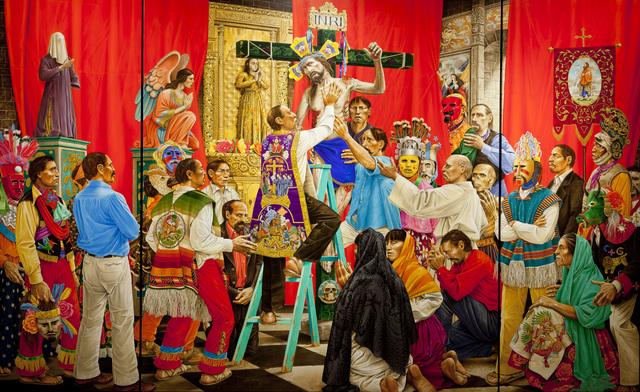 , 'Nuestro Señor el Desollado (Our Lord, The One Who is Flayed),' 2004, Phoenix Art Museum