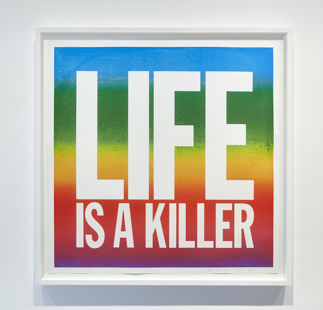 , 'LIFE IS A KILLER,' 2017, Cahiers d'Art