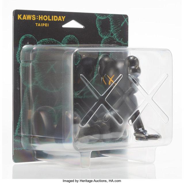 KAWS, 'Holiday: Taipei (Black)', 2019, Heritage Auctions