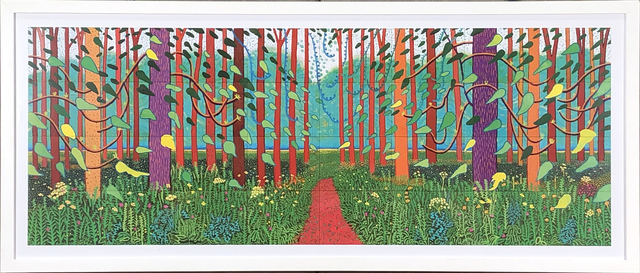 David Hockney, 'The Arrival of Spring in Woldgate, East Yorkshire', 2016, ArtWise