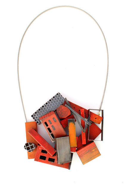 , 'Pile in red,' 2017, Facèré Jewelry Art Gallery