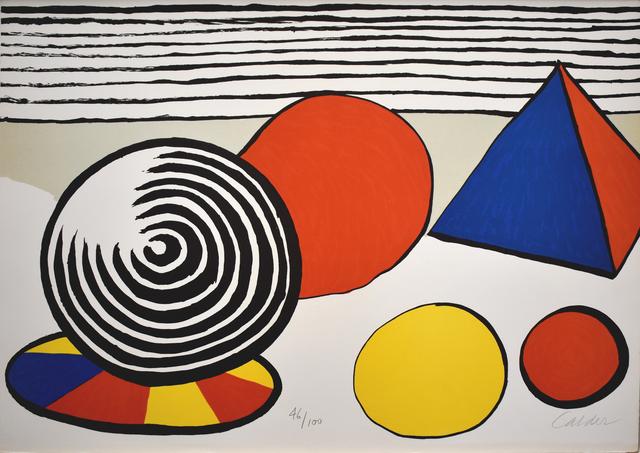 , 'Composition VII, from The Elementary Memory | La mémoire élémentaire,' 1976, Gilden's Art Gallery