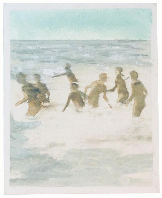 , 'In the Surf (study),' 2014, Albert Merola Gallery
