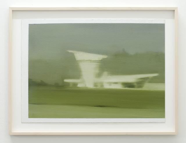 , 'Study for aerodrome building III,' 2013, Galerie Laurence Bernard