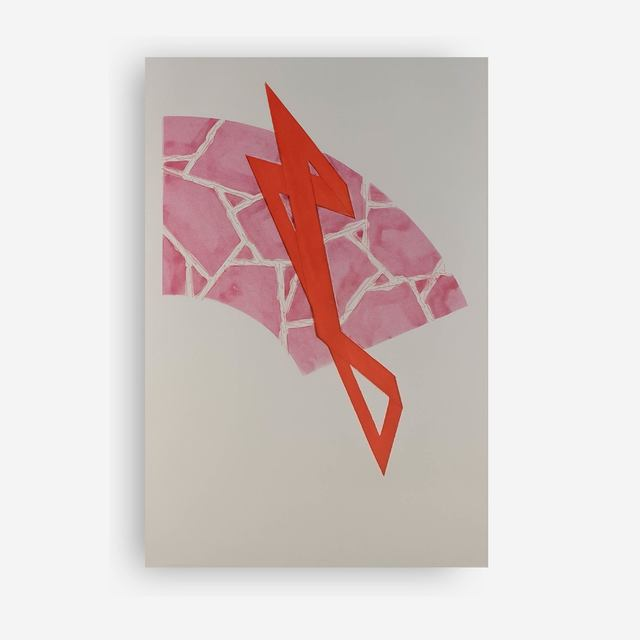 Richard Smith, 'Coup de Theatre (Magenta/Red)', 1985, Capsule Gallery Auction
