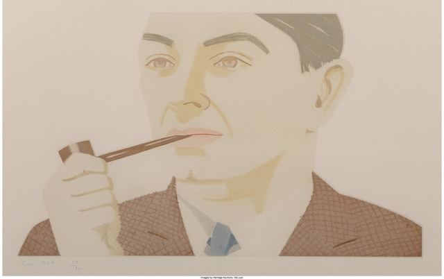 Alex Katz, 'Man with Pipe', 1984, Heritage Auctions