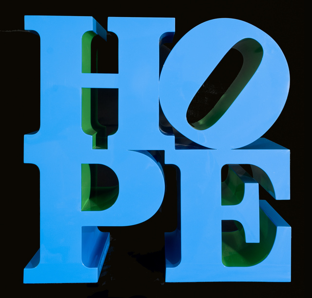 , ' HOPE blue-green  ,' 2009, Contini Art Gallery