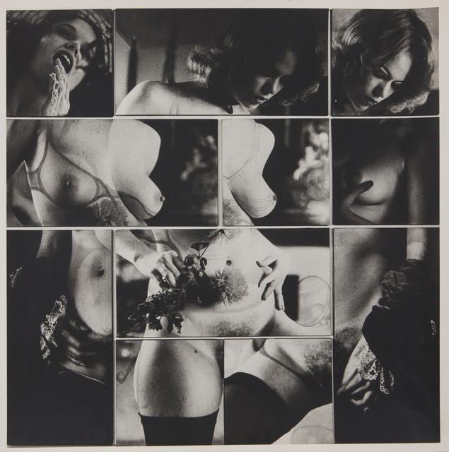 , 'Cliche Vary / Autoeroticism Variation, 1/2,' 1974, Rhona Hoffman Gallery