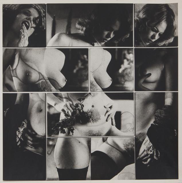 Robert Heinecken, 'Cliche Vary / Autoeroticism Variation, 1/2', 1974, Rhona Hoffman Gallery