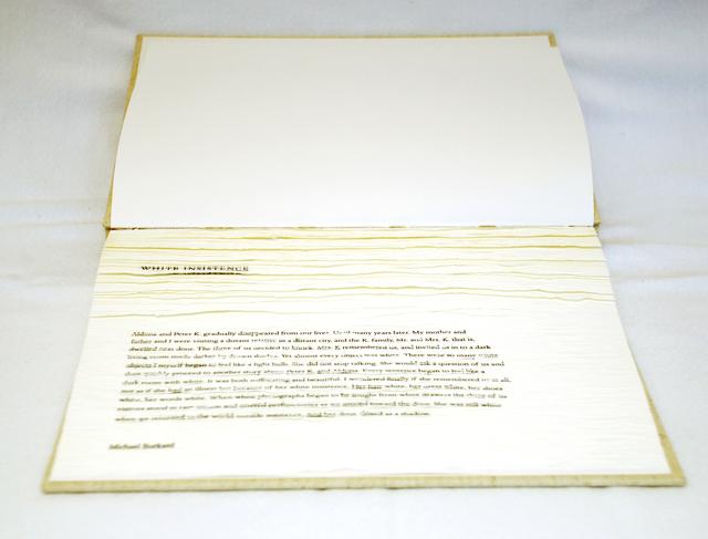 Buzz Spector, 'White Insistence', 2009, Bruno David Gallery
