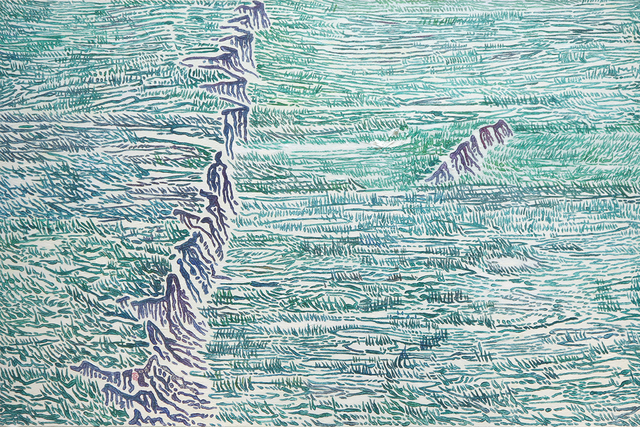 , 'Rift-3,' 2016, Aye Gallery